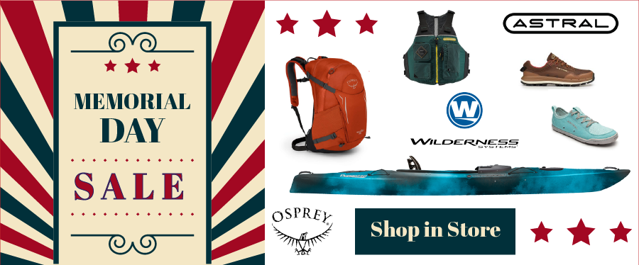 Sale Now on Osprey, Astral Wilderness Systems